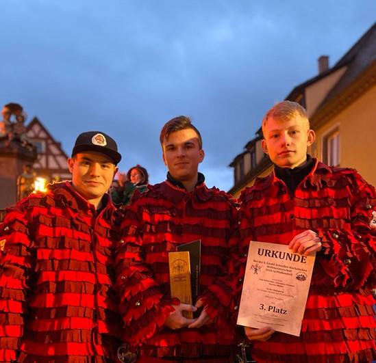 3.Platz (Kategorie: 3er männlich bis 18 Jahre)