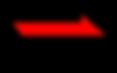 Negro y rojo de flecha derecha