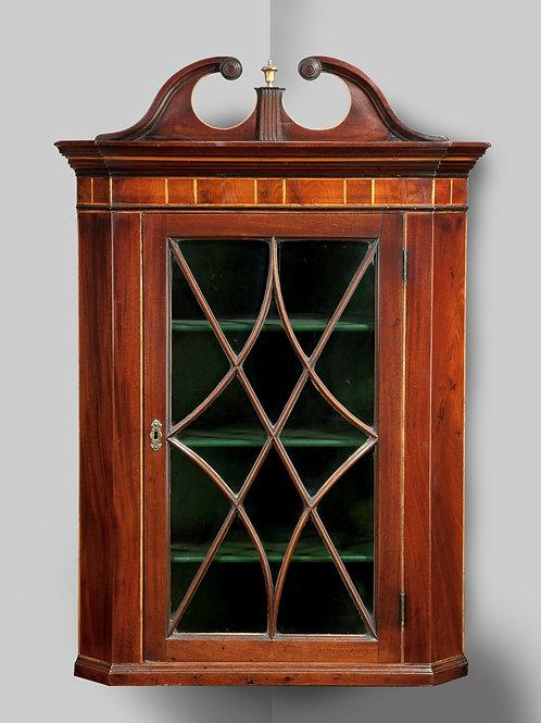 Georgian Period Corner Cupboard