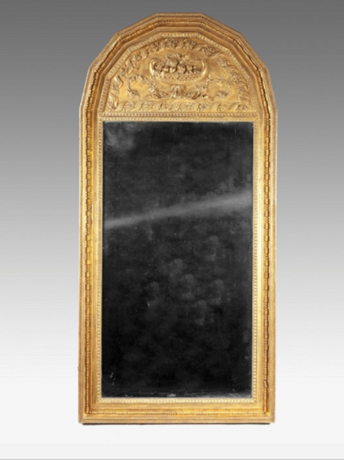19th Century Giltwood Pier Glass Mirror