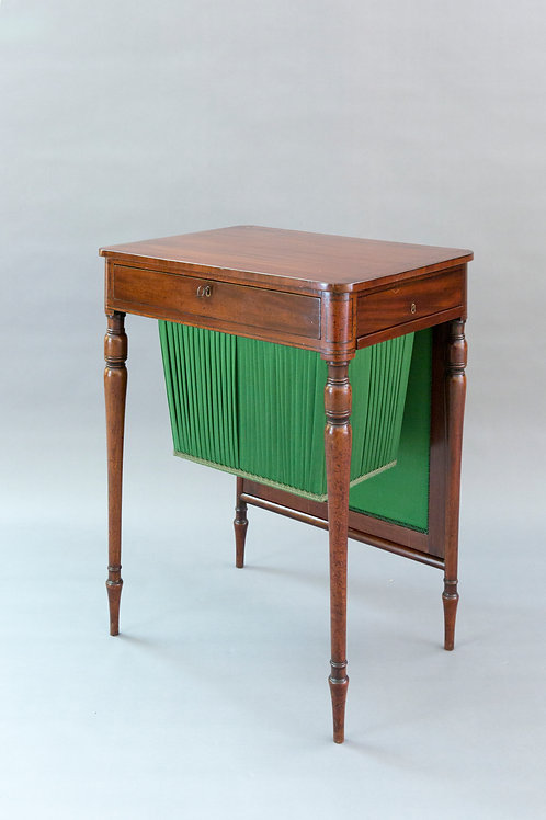 Regency Period Mahogany Work Table
