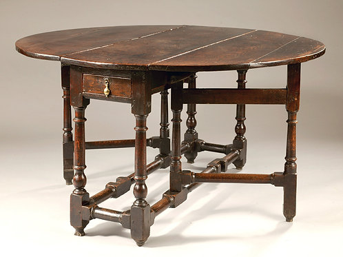 17th Century Oak Dining Table.