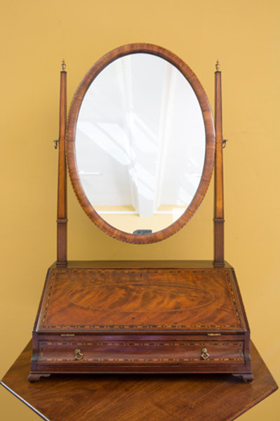 Oval Dressing Table Mirror