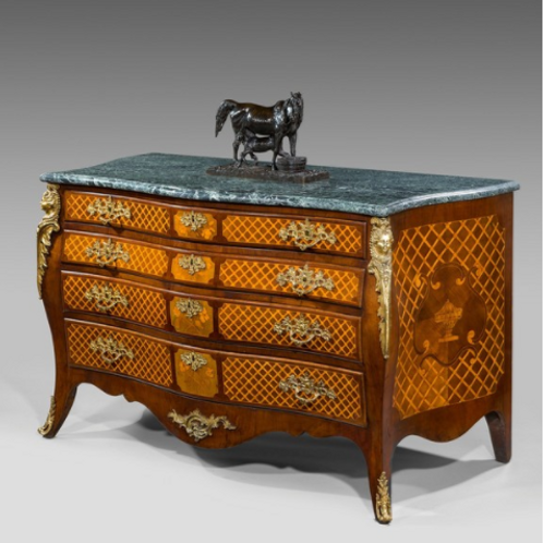 Georgian Bombe Commode