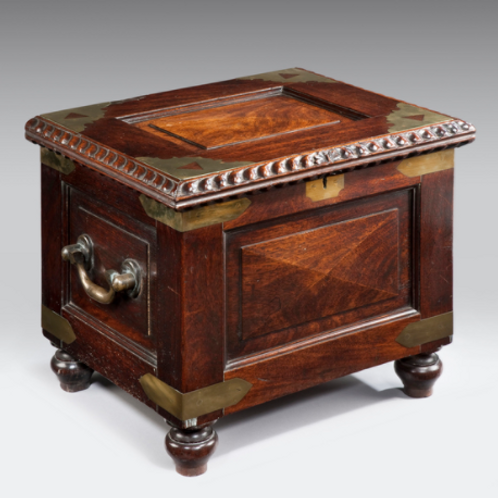 19th Century Colonial Box Commode