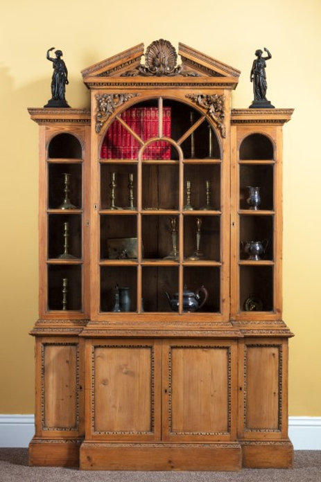 19th Century William Kent Style Bookcase