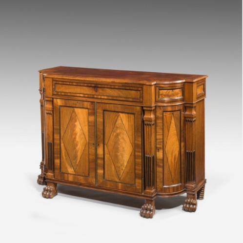 A Regency Mahogany Cabinet