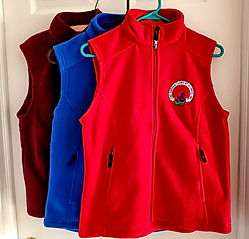 GCI Medium Vests Red Royal Blue  and Cra