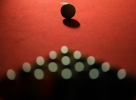 "The ""Second Ball Break"" In Eight Ball. ~ Paul Potier"
