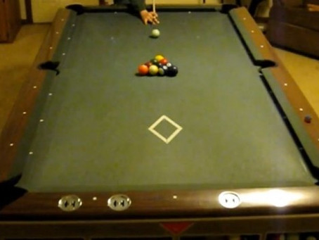 "Black Belt Billiards. ~ ""Hurricane"" Wayne Jenkins {Video}"
