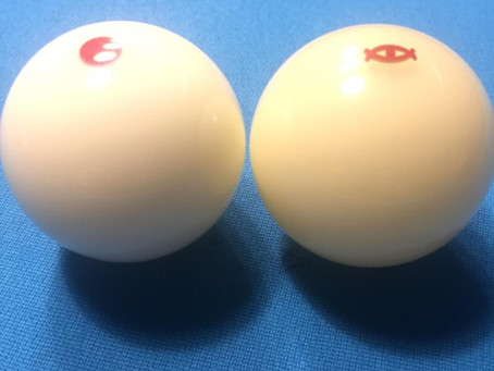 """Cyclop TV Edition """"Red Dot"""" Cue Ball – Review ~ Jaared """"The Jazz Man"""""""