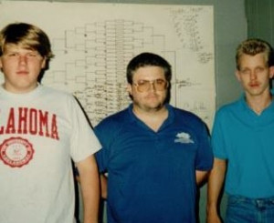 Greg with his friends, Shane Jones & Darrell Cowen in the early years.