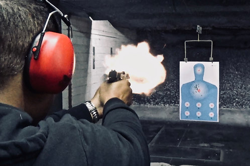 Concealed Carry Course Muzzle Flash