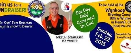 "A Fun Day in Denver with ""Dr. Cue"" Tom Rossman. ~Samm Diep-Vidal {Press Release}"