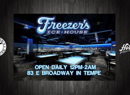 Freezer's Ice House Review ~ Steve Sherman