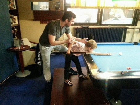 PoolSchool: Introduction to Pool at an Early Age. ~ Boris Vidakovic