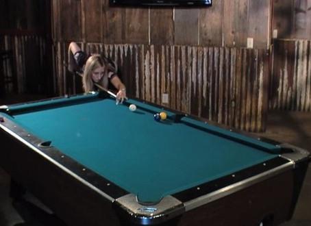 Billiards Trick Shots. ~ Jacqueline Karol {Video}