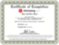 OSHA 30 Certification Jacob Herrick-Sove