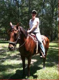 Kim White-Newsome horse