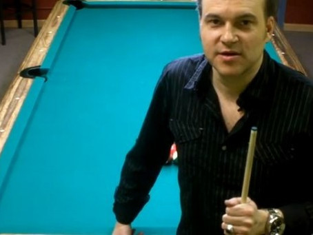 8-Ball Run Out Lesson 1. ~ Max Eberle {Video}
