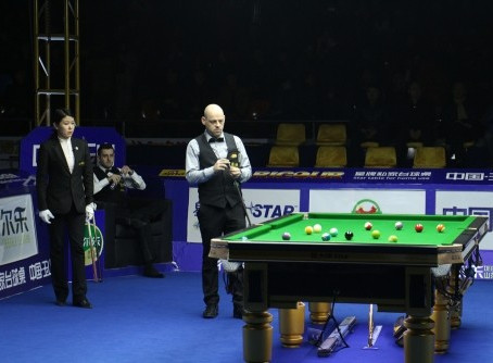Appleton Won the 1st World Championship in Chinese Billiard, Yushan 2015. ~ Boris Vidakovic