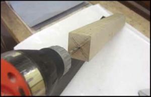 drilling cue