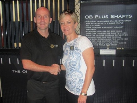 Allison Fisher Joins the OB Pro Team of Players. {Press Release}