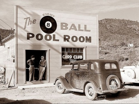 Where Have All the Pool Rooms Gone? ~ Bert Kinister
