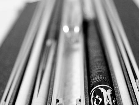 Tools of the Trade: The Cue. ~ Kimberly Lecumberri