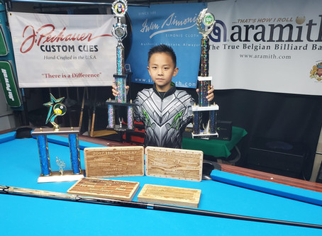 Jin Powell 9 year Old Pool Prodigy~ by  Jacqueline Karol