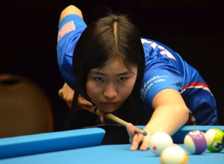 Michelle Jiang: Champion Pool Player ~ Roy Pastor