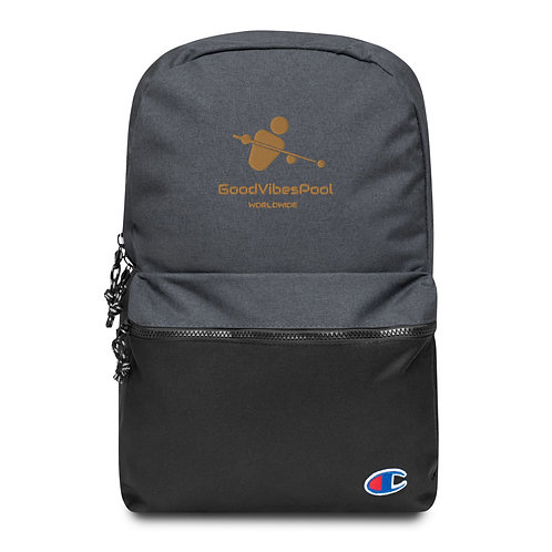 GoodVibesPool Embroidered Logo Backpack
