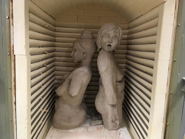 Witch in the kiln