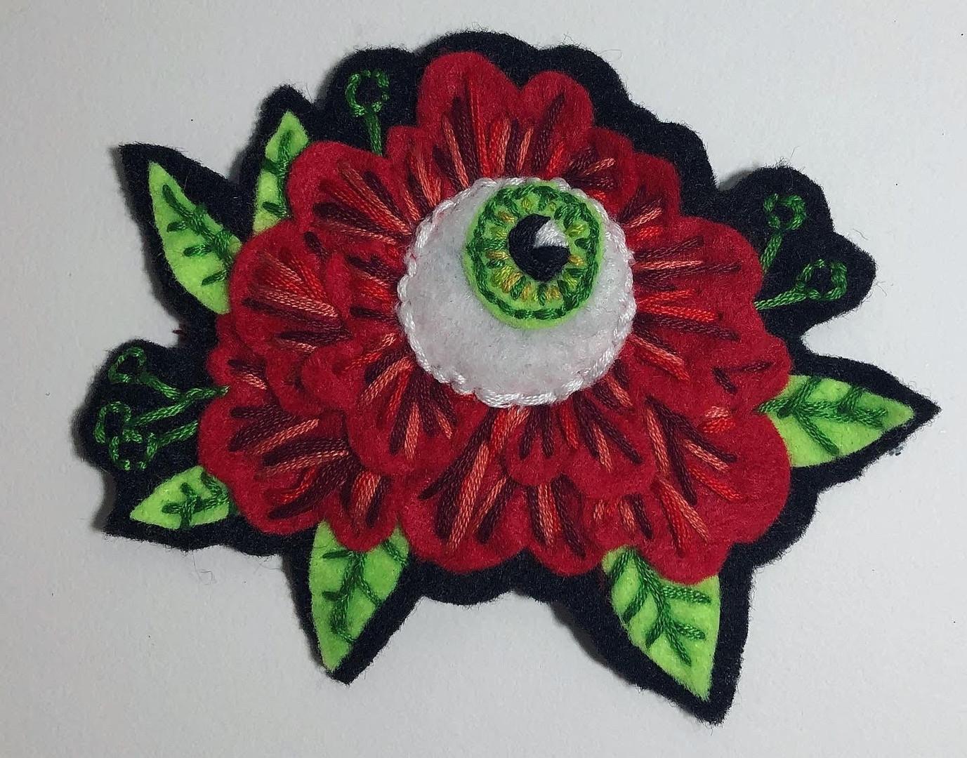 Eye Flower Patch