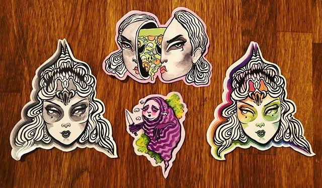 ✨New stickers!✨_._._._#janerevaestickers