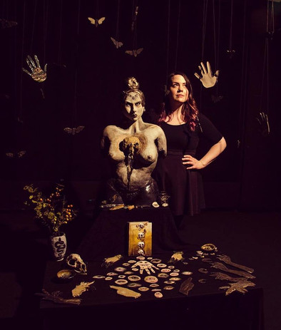 Witch, Altar & Jane