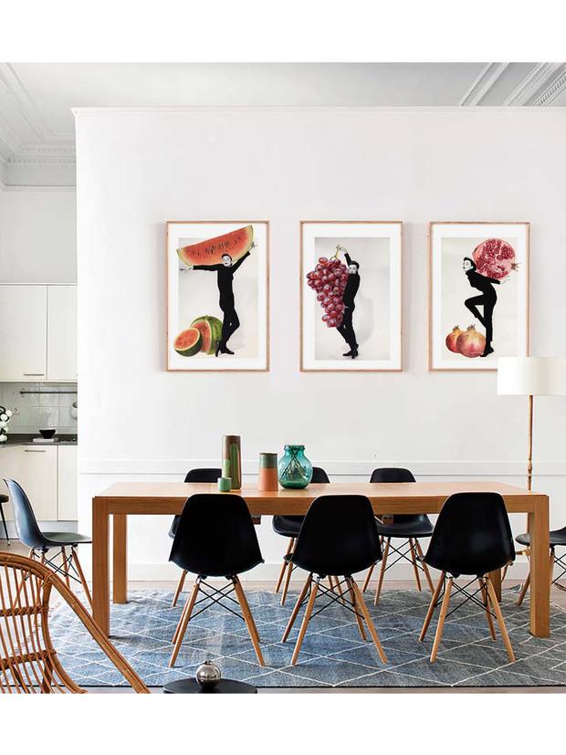 cuadros de Audrey Hepburn para la cocina