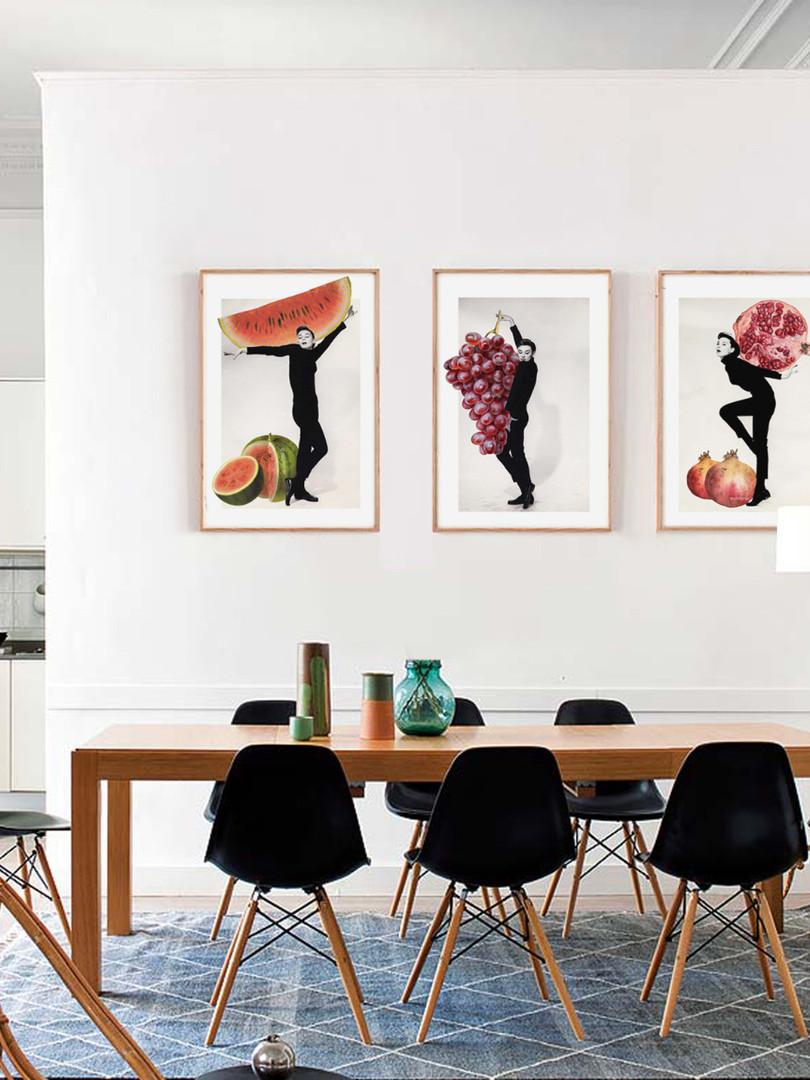 Collage para el comedor
