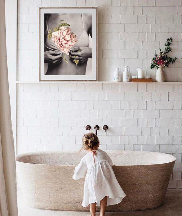 Ideas de collage para decorar baños
