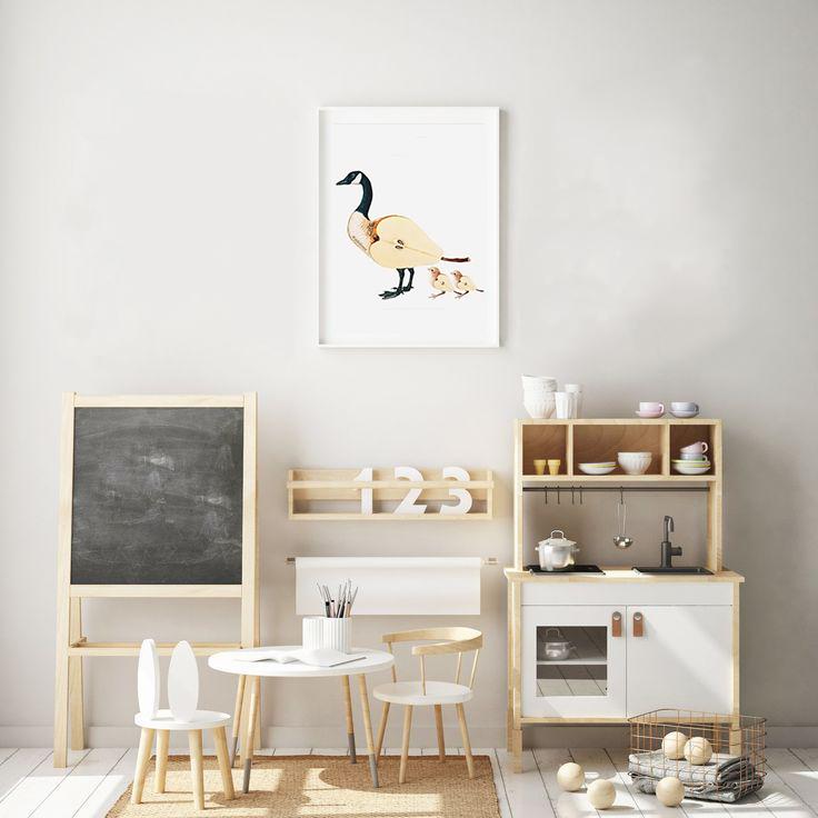 Collage de animales para habitaciones infantiles