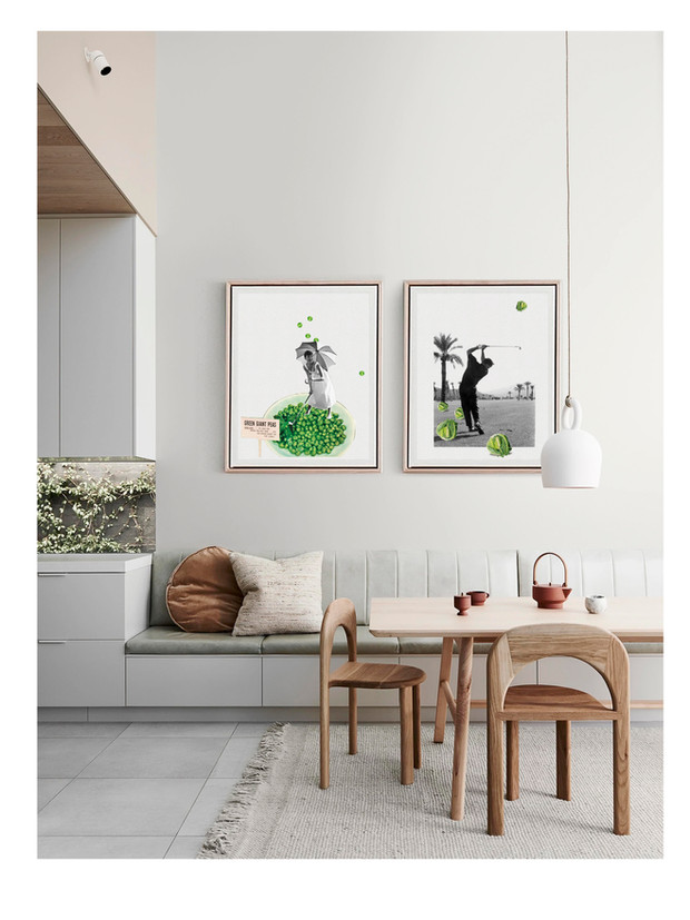 cuadros de cocina para amantes del golf