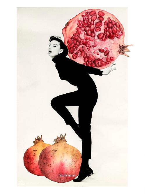 Audrey Pomegranate