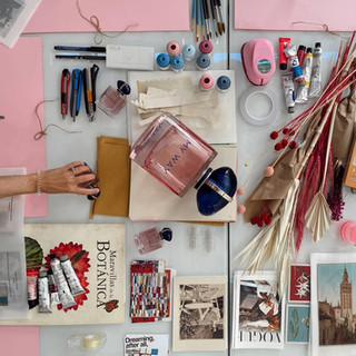 Taller de collage de Pilsferrer para Armani Beauty