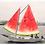 Cuadros originales para casa de barcos y sandia