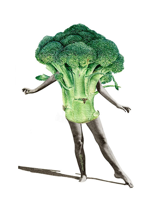 Cuadro para casa de brocoli
