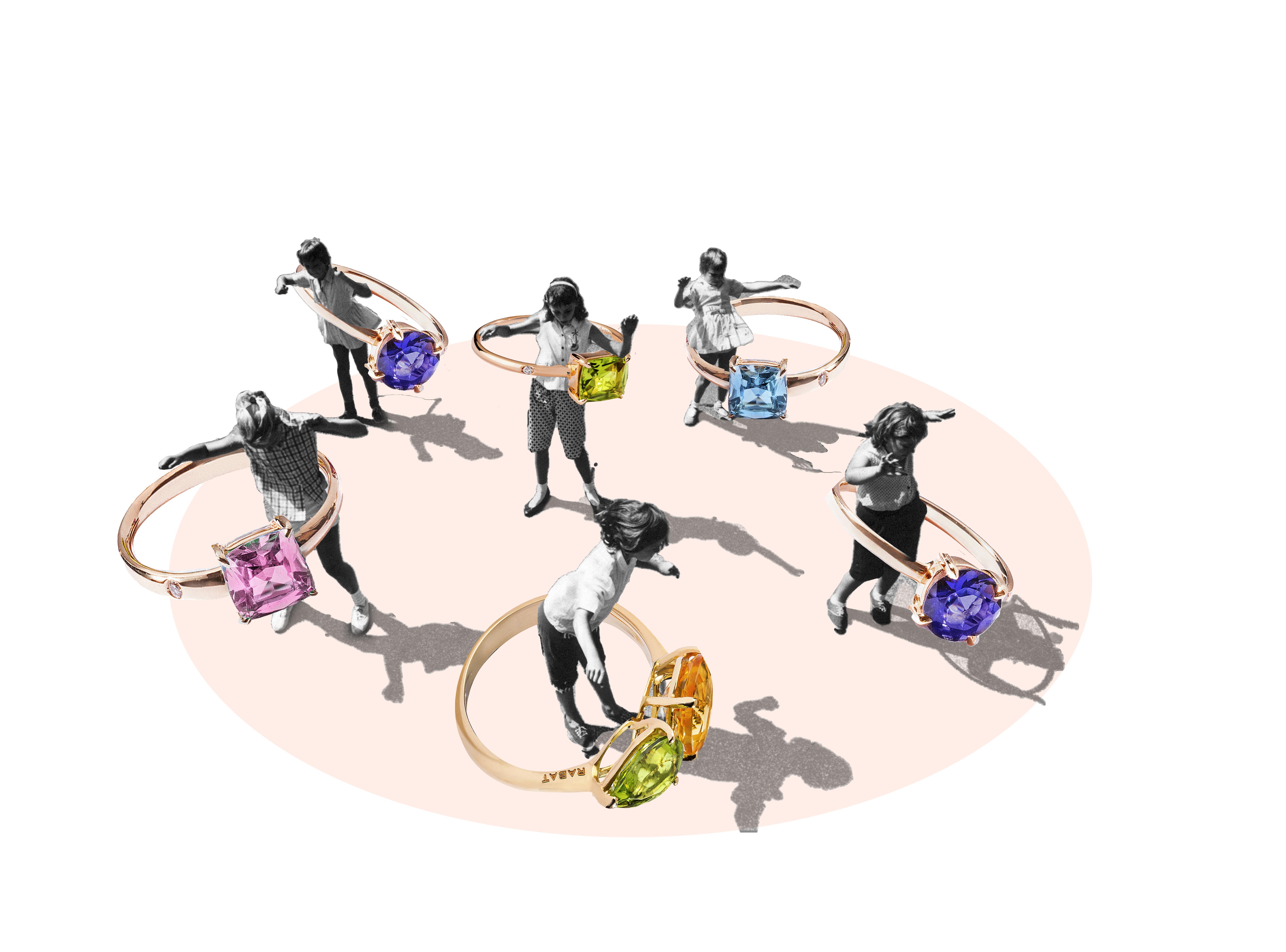 Colaboracion Pilsferrer con Rabat ninos jugando