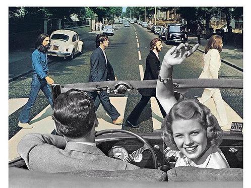 Cuadro original para casa de The Beatles