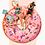 Cuadro para casa de un donut