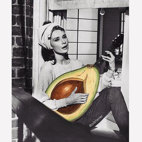 Cuadro original para casa de Audrey Hepburn