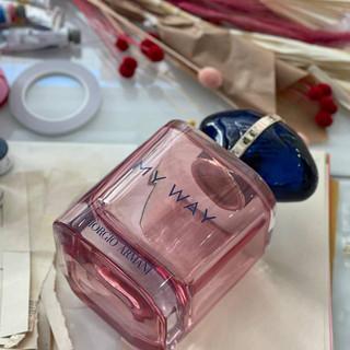 Bote de perfume My Way en el taller de Pilsferrer